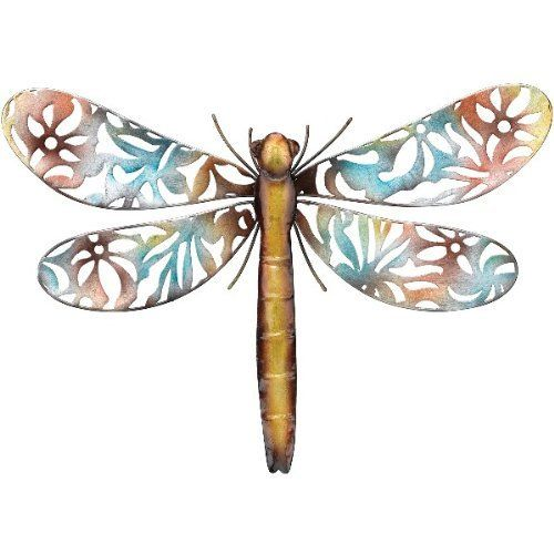 39 best home kitchen home decor accents images on With best brand of paint for kitchen cabinets with metal wall art dragonfly