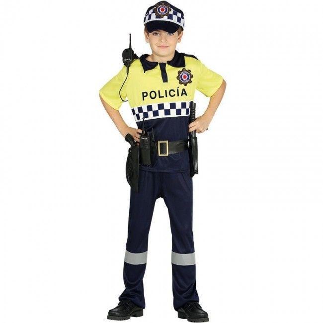 Disfraz Policía Municipal para niño #disfraces #carnaval #novedades2017
