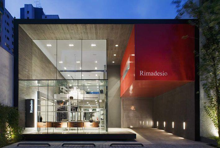 ACT _ Romegialli, Decoma Design - Edificio Cinex-Rimadesio, São Paulo, Brazil #offices #showroom