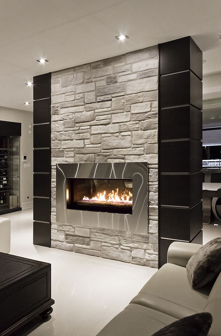 Decorative Stone For Living Room Fireplace Using Campagnard By Rinox Inc