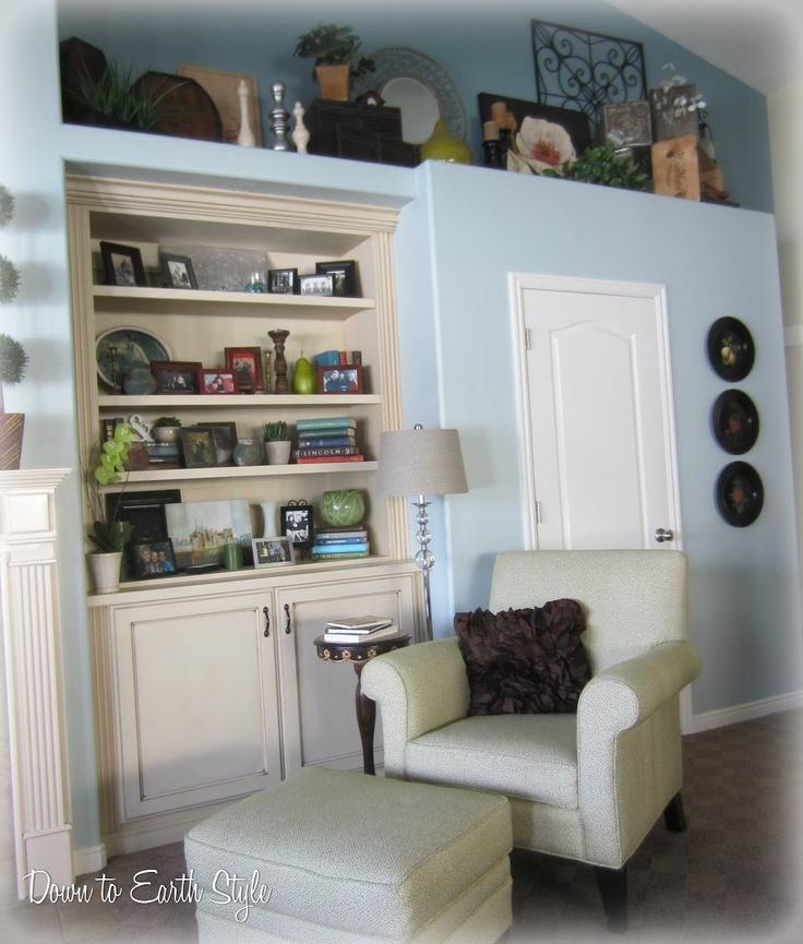 29 best ledge decorating images on pinterest plant ledge - Living room ledge decorating ideas ...