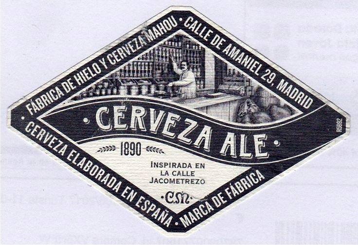 Casimiro Mahou Ale, Belgian Strong Dark Ale 6,4% ABV (Casimiro Mahou, Subsidiary of Grupo Mahou-San Miguel, Madrid) #label