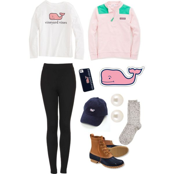 Cute outfit  ft . Vineyard Vines