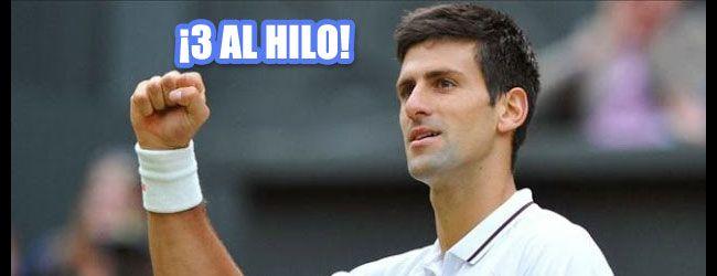 El serbio Novak Djokovic se ha convertido en el primer tenista en ganar tres años seguidos el título de las Finales ATP desde que lo hiciera Ivan Lendl en 1985-87, record que comparten tan sólo con otro tenista, Ilie Nastase quien lo logró en 1971-1973.  Read more at: http://www.flashtennis.com/torneos-de-tenis-La-Final-de-Tour-ATP-2014-resulta-la-mas-decepcionante-de-toda-la-historia Copyright © Flashtennis