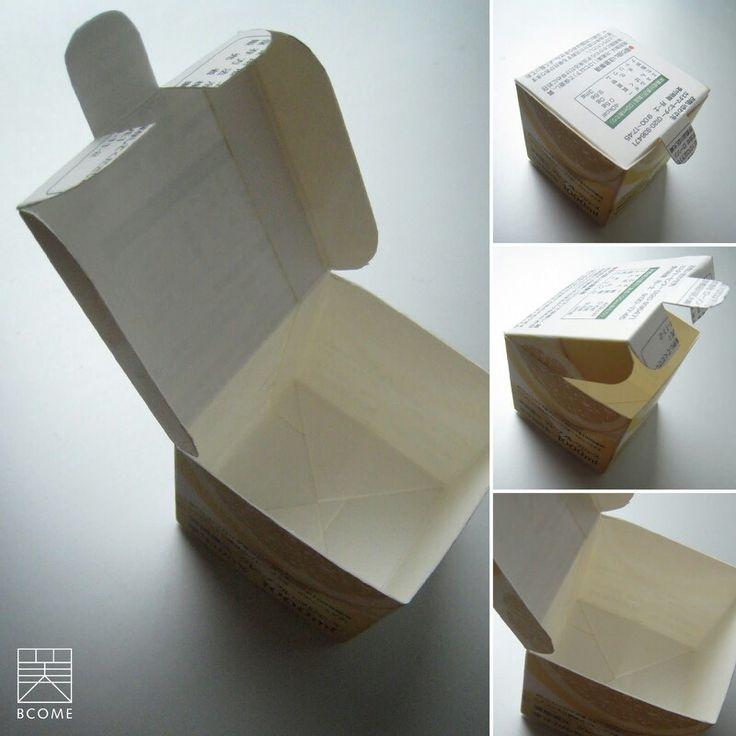 Mini caja con tetrapack.