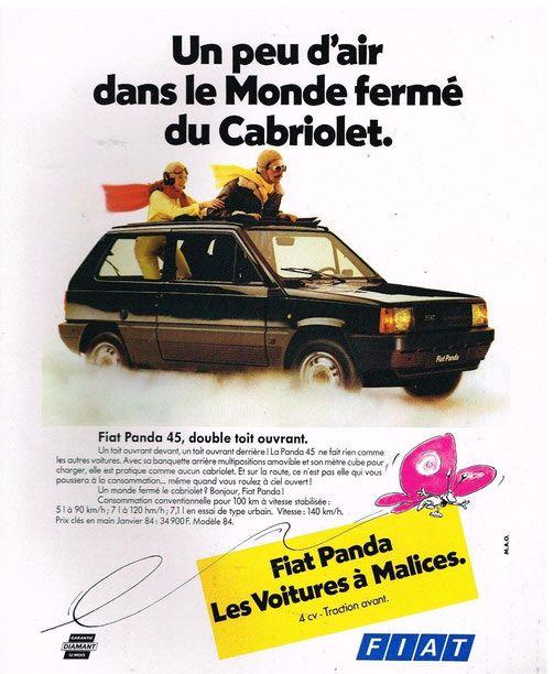 Fiat Panda 1984