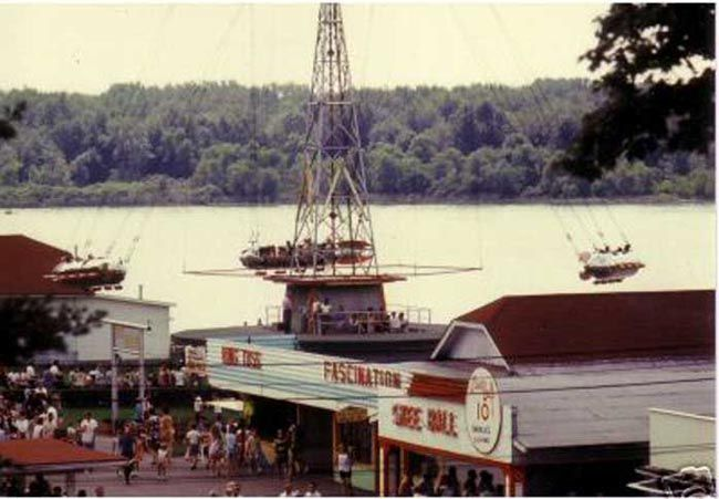 Rocketship Amusement Park Rides Chippewa Lake Park The