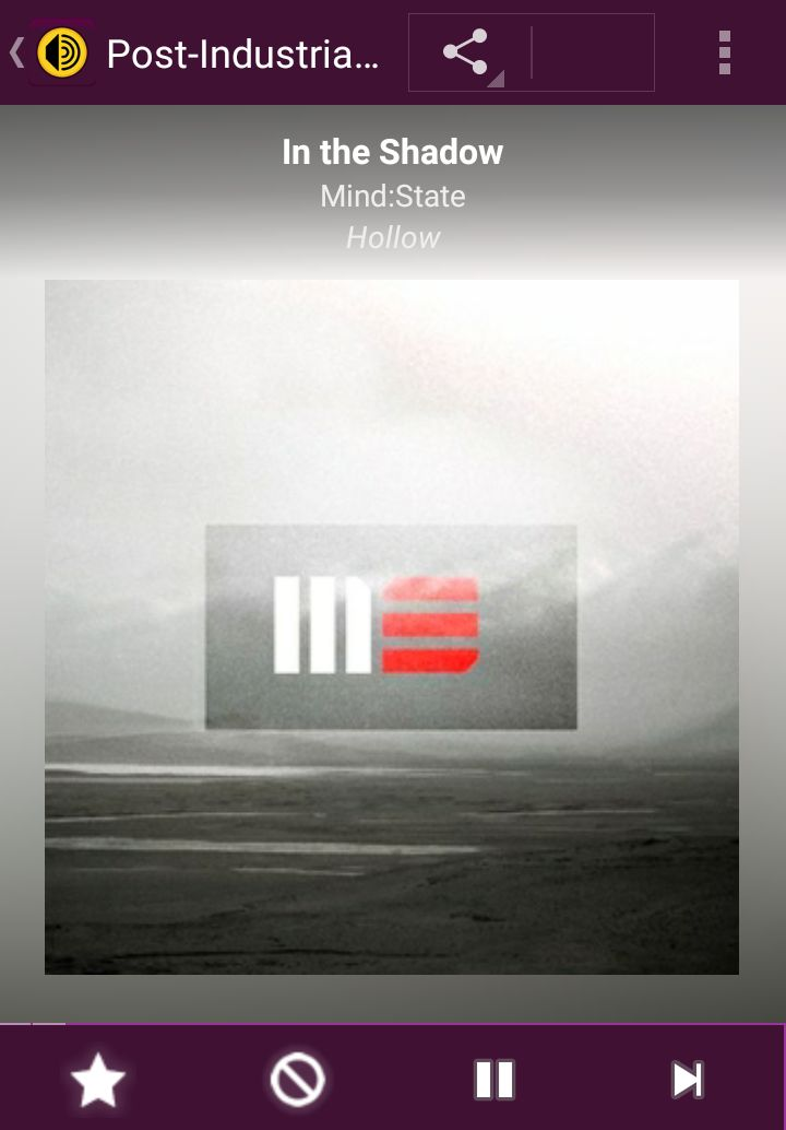 Listening to Mind:State on the AccuRadio Post-Industrial EBM music channel