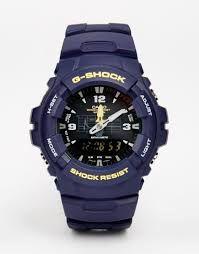 Casio G-Shock Men's G-100-2BVMUR Chronograph Watch