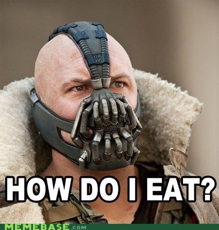 Bane confronts the awful truth...
