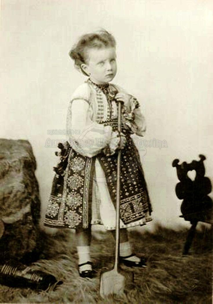 Principesa Maria - unica fiică a Regelui Carol I şi a Reginei Elisabeta moartă la 4 ani de scarlatină.