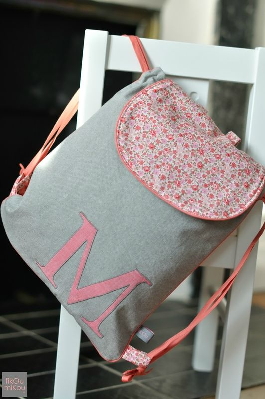 sac à dos personnalisé - fikOu miKou ®