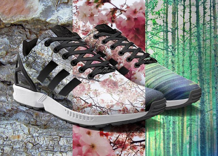 adidas mi zx flux app customizes sneakers with printed photographs - designboom | architecture