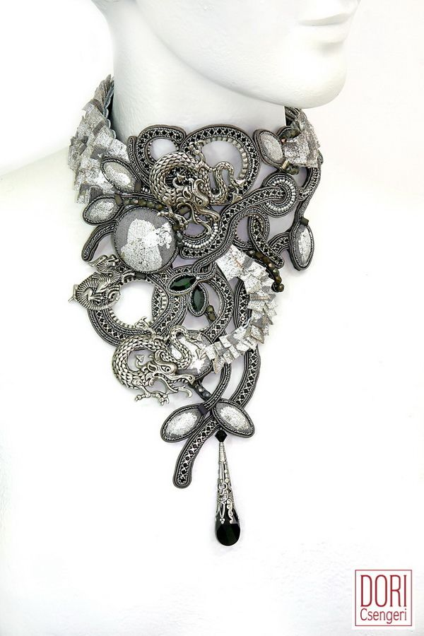 Lady Dragon : Lady Dragon Couture Necklace