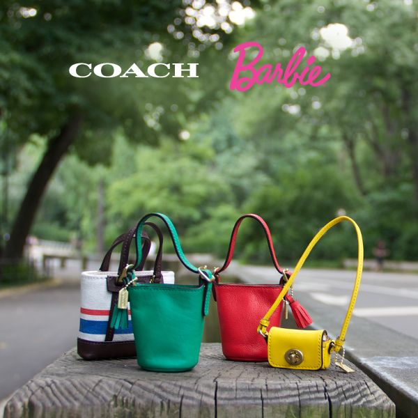 Coach Barbie is coming soon with her first leather bag! Select the style you think she'll choose and be entered to win the new Coach Barbie and three very special mini Coach bags you can't get anywhere else.