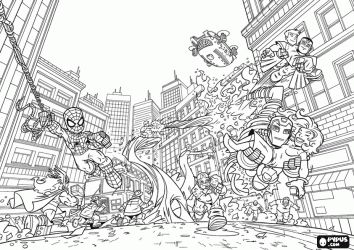 free super hero squad coloring pages - 7 best images about superhero squad on pinterest