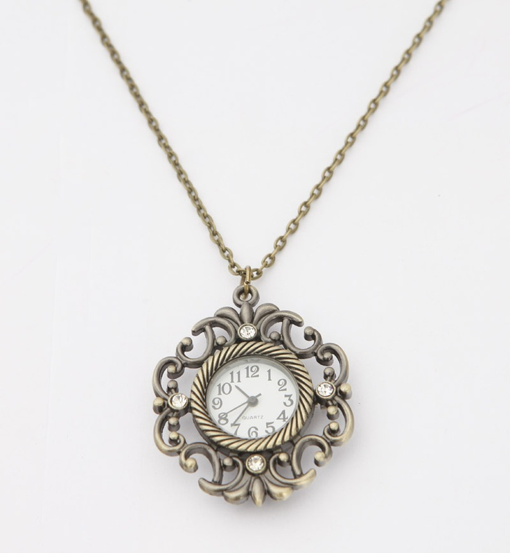 Antique Watch Necklace.
