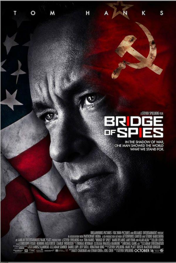 Ponte dos Espiões (2015) ★★★– Um bom filme com uma bela atuação de Tom Hanks. Mas é muito previsível e isso, pra mim, matou um pouco o filme...
