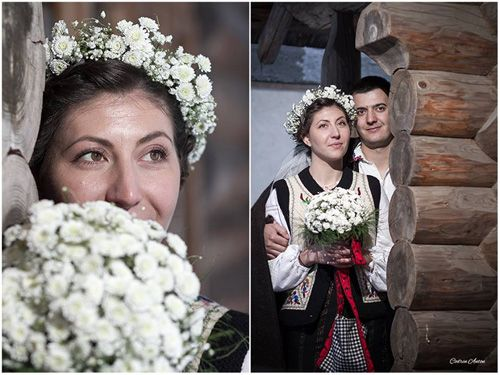 Romanian traditional wedding in Bucovina