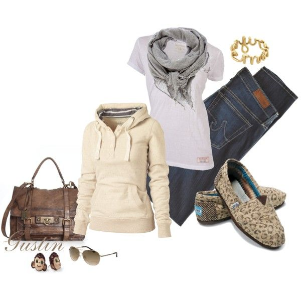casual comfort: Shoes, Outfits, Casual Comforter, Style, Leopards Toms, Casual Fall, Fall Fashion, Monkey Earrings, Bags