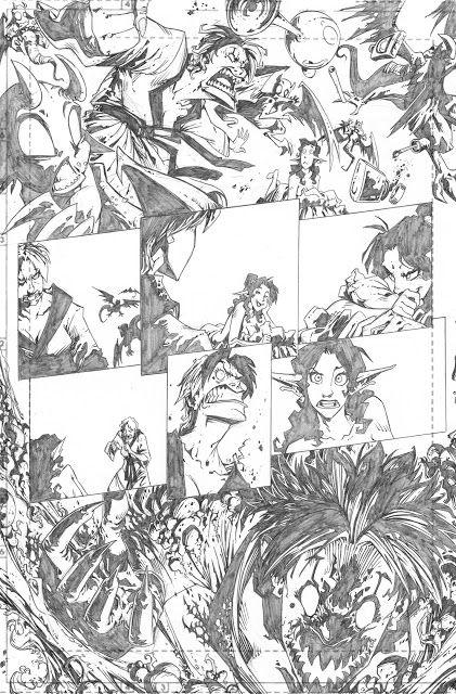 Marco Maccagni's Artworks: Archon#3 page20
