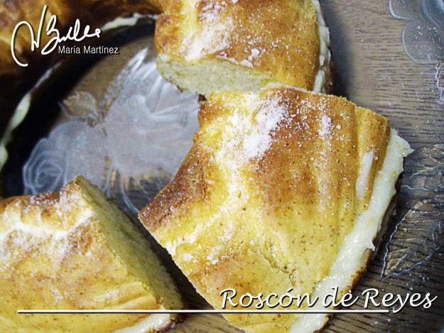 Navidad Dukan: Roscón de Reyes, relleno de Crema (Crucero) | Recetas Dukan y más, por Maria Martinez