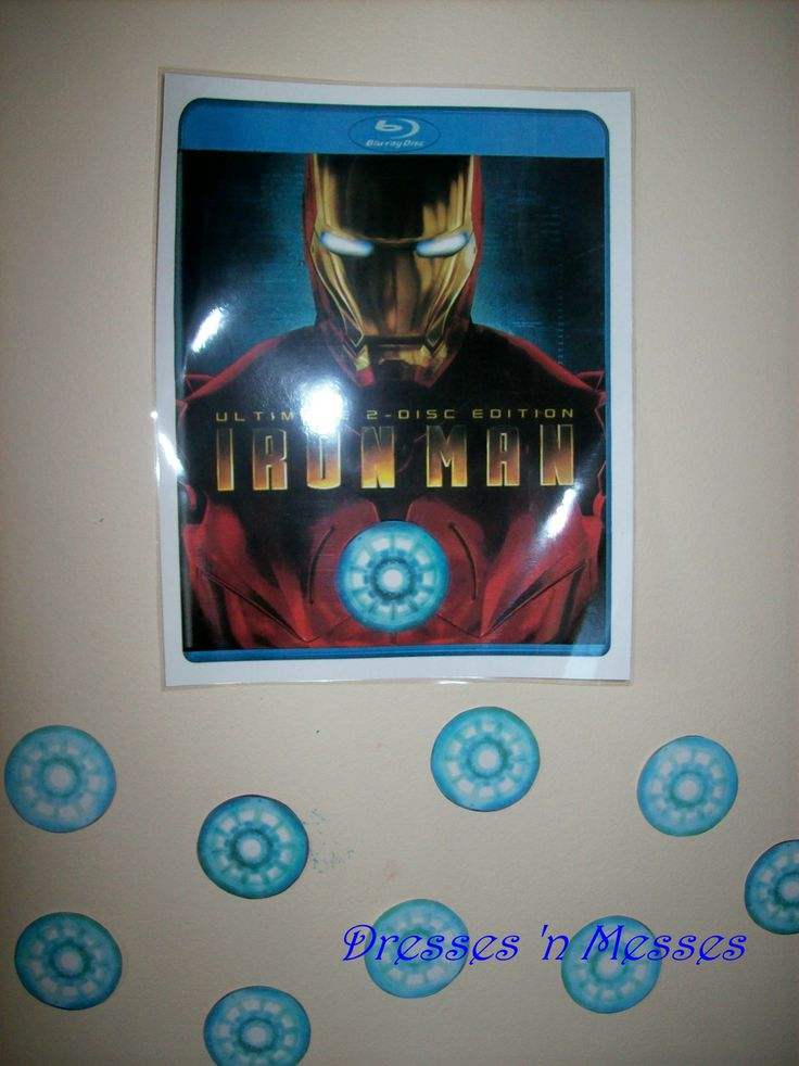 My son wanted an Iron Man party this year for his birthday. Seriously?! I've never seen the movies, and there's really nothing on the internet geared toward young children. So, I had my…