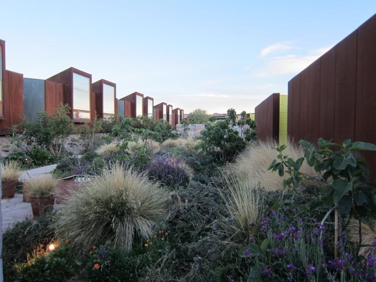 Inner courtyard of the Tierra Atacama Hotel & Spa, San Pedro de Atacama, Chile. Photo by CD