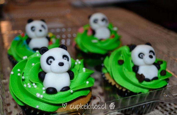 #cupcakes #panda