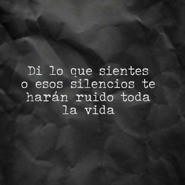 Silencios...