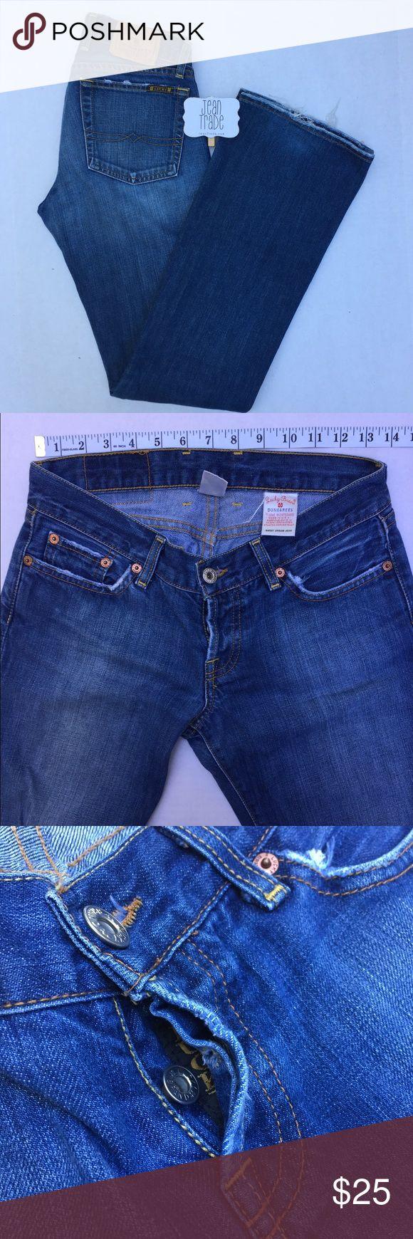 Lucky Brand Dungaress Sweet Dream Jean Lucky Brand Dungaress Sweet Dream Jean EUC Lucky Brand Dungarees Jeans Boot Cut