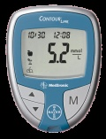 Bayer Contour Link, works with Medtronic pump