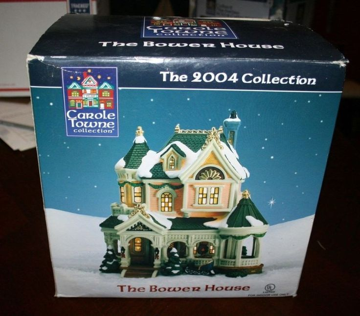 Carole towne collection lemax the bower house 2004 rare christmas