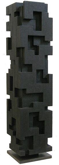 Alban LANORE | Sculptures Contemporaines | Totem | Colonne