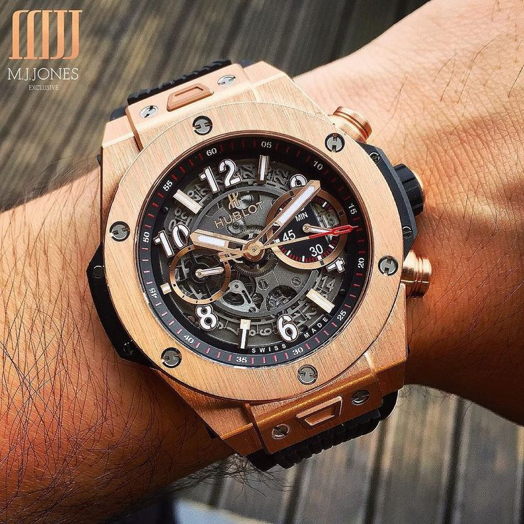 The #Hublot #BigBang #Unico in #RoseGold  Available now!  Enquire on WhatsApp 44 7921 338836
