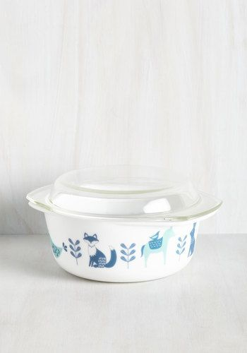To Eats Their Own Baking Dish in Fauna - Large, @ModCloth