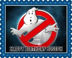 Ghostbusters 4 Edible Birthday Cake Topper OR Cupcake Topper, Decor #edibleprintsoncake, #ediblecaketopper, #ediblecakeimage,