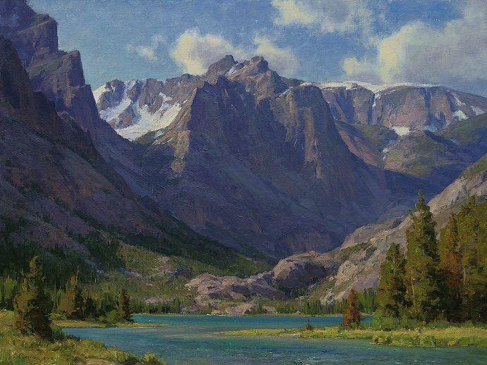95 Best Images About Great Landscape Paintings! On Pinterest