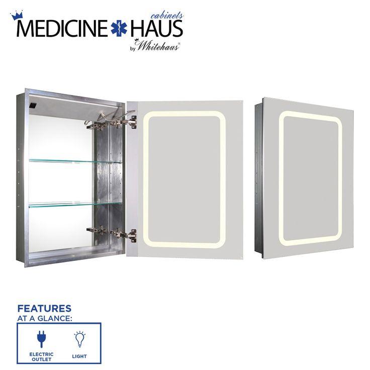 20 best medicine cabinet with light images on pinterest medicine cabinets medicine cabinet. Black Bedroom Furniture Sets. Home Design Ideas