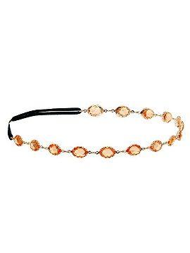 Orange Stone Stretch Headband