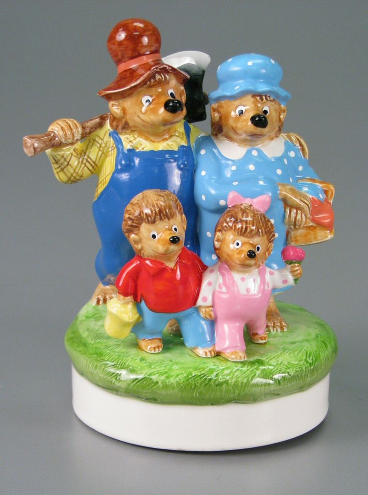 The Bears' Picnic  music box