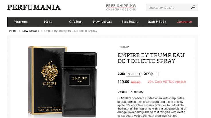 Perfumania Restocks Trump Colognes After Cutting Ties Over Racist Remarks