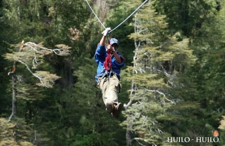 """Canopy Huilo Huilo """"El vuelo del Águila"""""""
