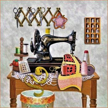 Sewing inch~by~inch (144 pieces)