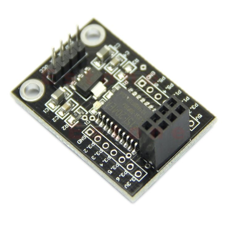 OOTDTY Wireless MCU STC15L204 AMS1117 5V-3.3V Driver Board With NRF24L01 UART Interface