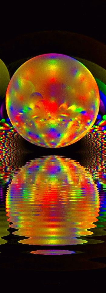 bubble ....colors, another creation from Jehovah God