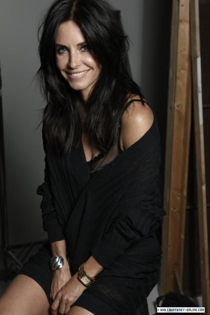 If Courtney Cox is interested in a dramatic role, she has the right look for Omerri Backhouse #WandererOfWorlds #Axiom