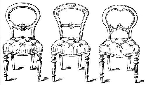 Antique Balloon Back Chairs In 2019 Victorian Chair