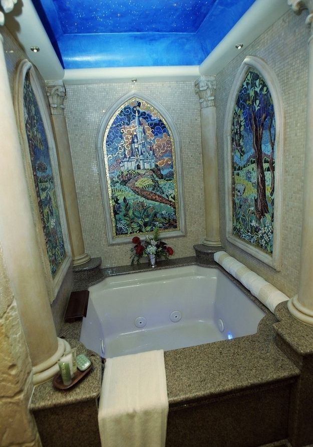 Best Luxury Bathroom Decor Images On Pinterest - Disney princess bathroom set for small bathroom ideas