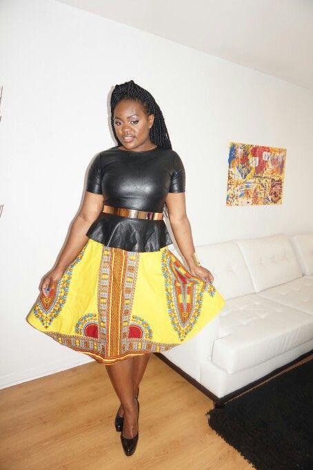#modeAfricaine #blogMode #pagne #Dashiki #Angelina #Yamado #mukaji